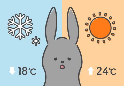 暑さ・寒さ対策